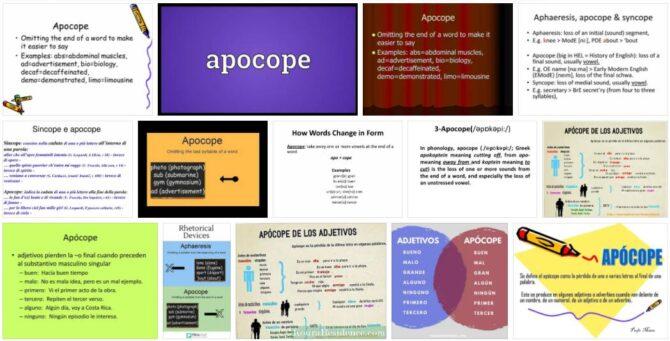 Apocope
